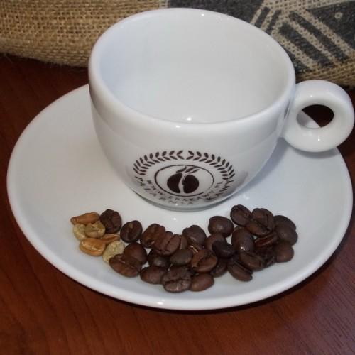 """Firmowa filiżanka do cappuccino z logo Palarni Kawy """"erakawy.pl"""""""