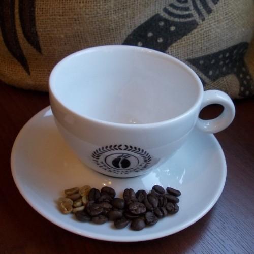 """Firmowa filiżanka do latte z logo Palarni Kawy """"erakawy.pl"""""""