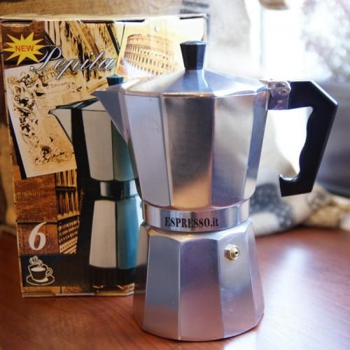 Kafetiera (kawiarka) aluminiowa G.A.T.  Pepita 6