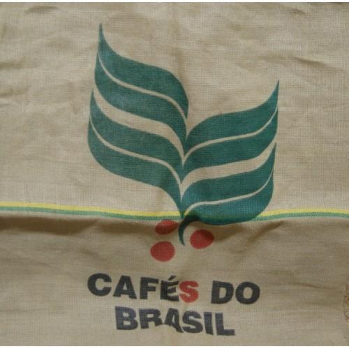 Worek jutowy po kawie Brasil