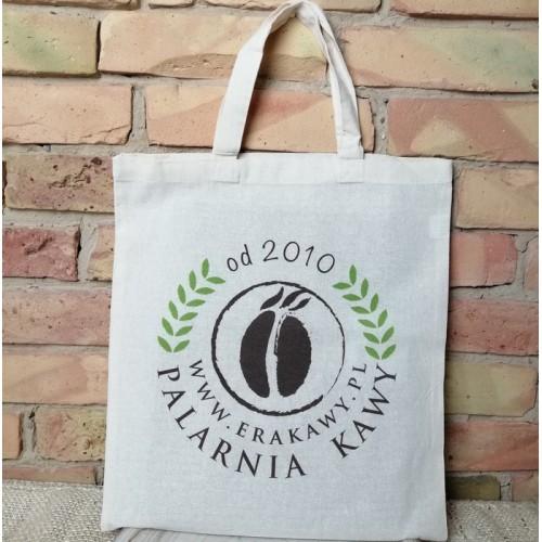 Firmowa torba z logo Palarni Kawy ERAKAWY.PL