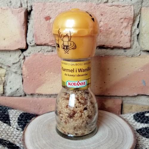 Karmel i wanilia - młynek
